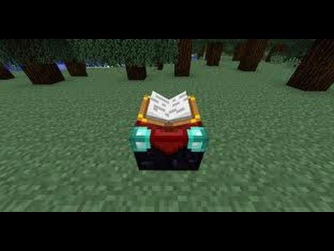 Tuto comment minecraft 1 4 7 comment faire et utiliser - Comment faire une table d enchantement minecraft ...