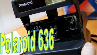 polaroid 636 - обзор легенды! Ретро-фотоаппарат! Полароид!