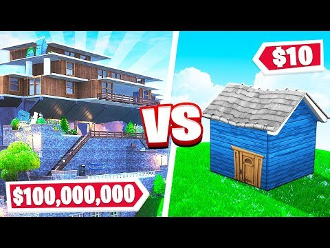 BUILD YOUR DREAM MANSION CHALLENGE in Fortnite Creative!