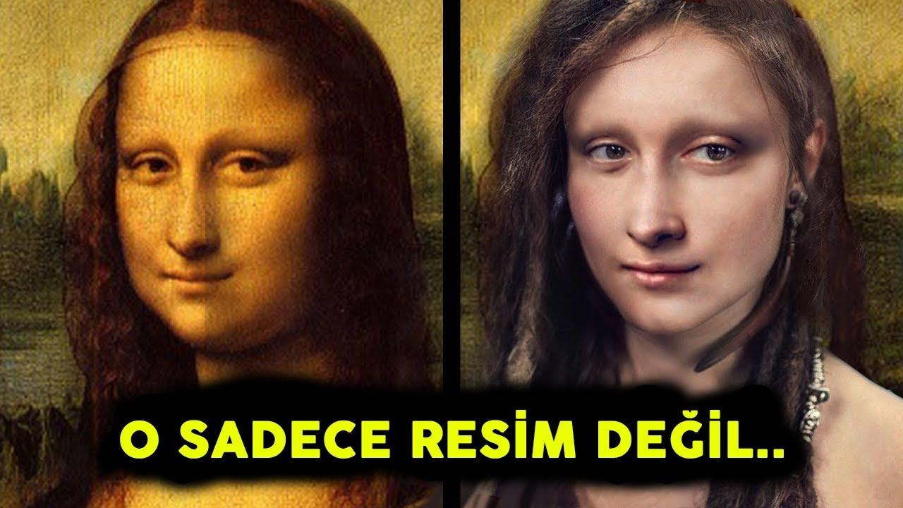 Mona Lisa Tablosu İle İlgili Gizemli Gerçekler - O Sadece Resim Değil