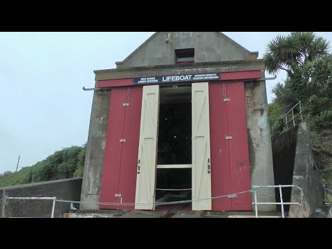 PENLEE LIFEBOAT HOUSE AT PENLEE POINT & THE PENLEE LIFEBOAT DISASTER MEMORIAL GARDEN, Near MOUSEHOLE