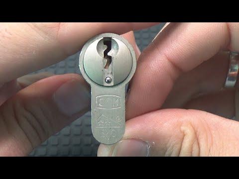 Взлом отмычками DOM 5  454 DOM 5 PINNER