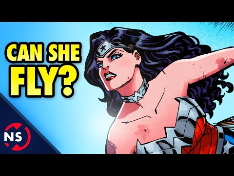 Can WONDER WOMAN Fly? | Comic Misconceptions