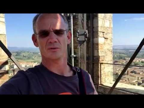 Vlog: 180 graden view van de 'Torre del Mangia'