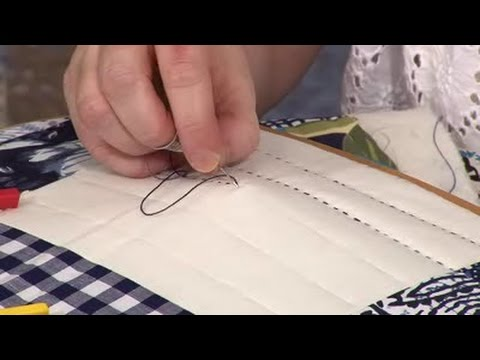 Big Stitch Utility Quilting with Carolyn Forster (taster video)