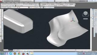 Урок 12  Редактирование поверхностей 3D моделирование в AutoCAD 2014