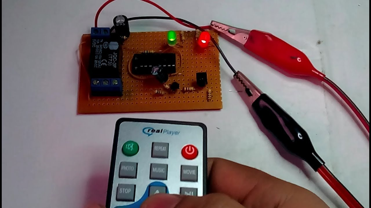 How To Make Remote Relay Switch Youtube Ir Control Tester Electronic Circuit Diagram