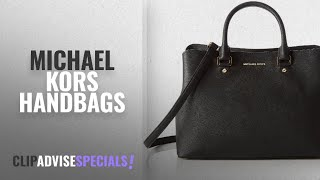 Michael Kors Savannah Handbags [ Top 10 ]: MICHAEL Michael Kors Women's Large Savannah Satchel,
