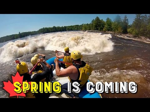 2017 BIG SPRING RAFTING, OTTAWA RIVER