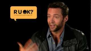 Actor Hugh Jackman shares why he supports R U OK?
