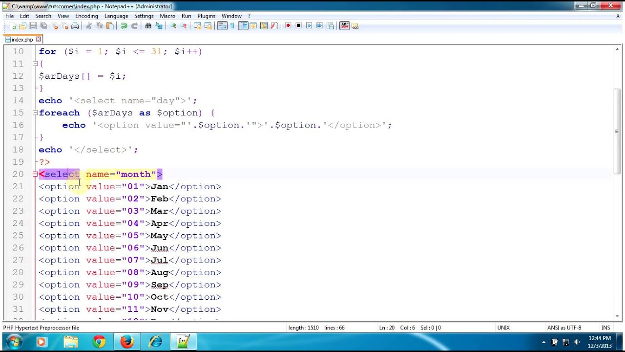 Calculate Age from Date of Birth Using PHP - PHP Tutorial - YouTube
