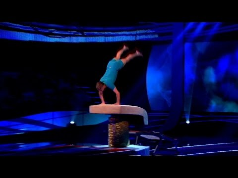 Andrea McLean and Peter Duncan vault-off – Tumble: Episode 2 – BBC One