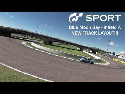 [GTSport] Blue Moon Bay Speedway - Infield A Hot Lap (New Layout)