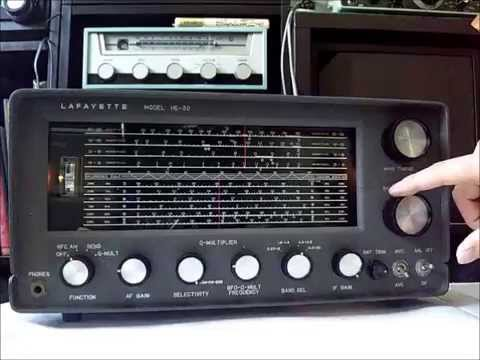 Lafayette he 30 receiver cleanup adjustment youtube for Lafayette cds 30