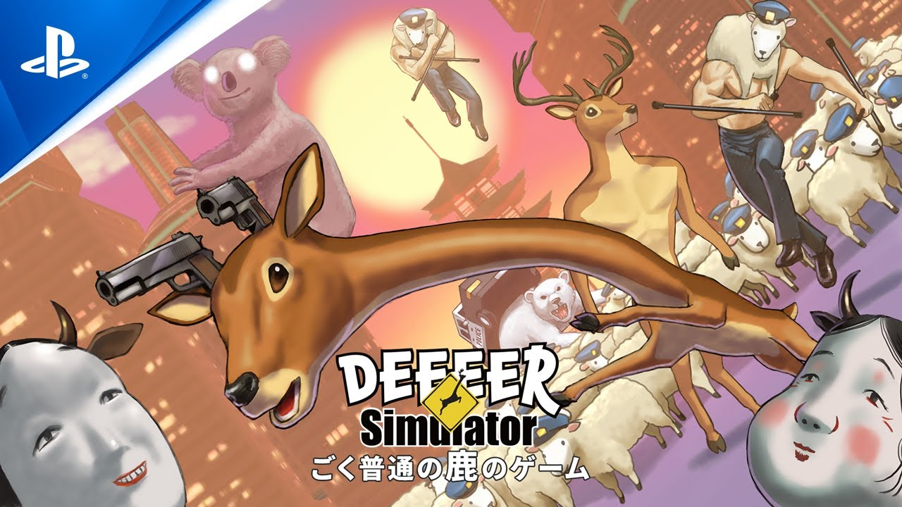 『ごく普通の鹿のゲーム DEEEER Simulator』 アナウンストレーラー