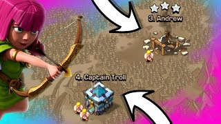 HOW TO CRUSH A TROLL IN CLASH OF CLANS!