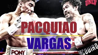 Manny Pacquiao vs Jessie Vargas Boxing Fight 2016 Fully Re-Enhanced HD
