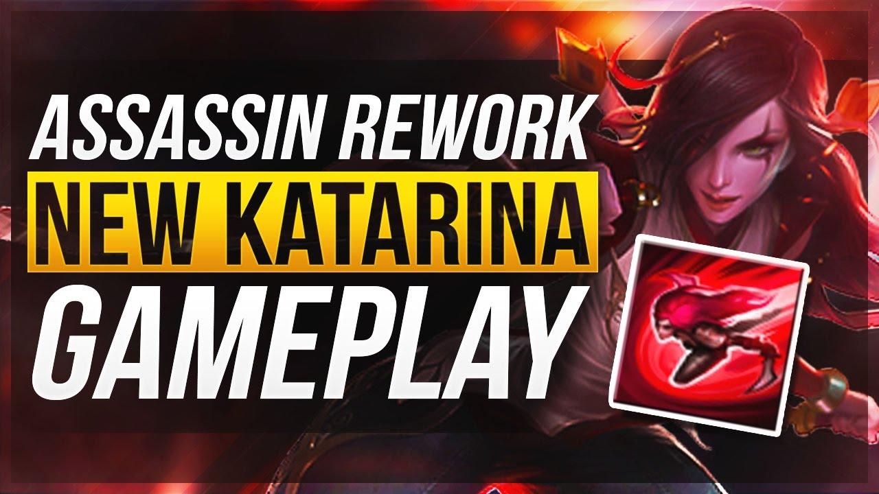 how to play the rework katarina