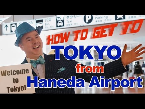 How to Get to Tokyo from Haneda Airport