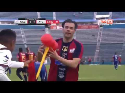 Leyendas Atlante VS Cruz Azul -Resumen- Homenaje a Chícharo González