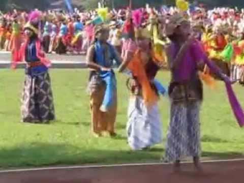 Wonosobo 2014 : 1500 Penari Lengger Hardiknas 4 - Pentas Tari (small)