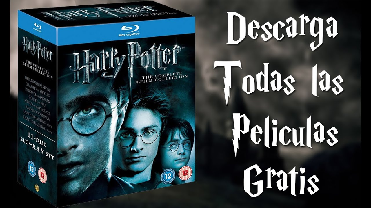 Harry potter descarga todas las pel culas gratis youtube for Todas las descargas
