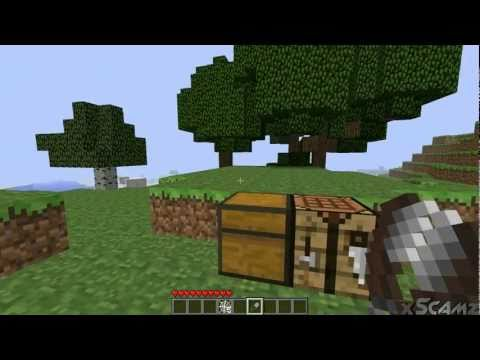 Minecraft 1.7.2 features: SHEARS, Sheep and Leaves + Spider Webs [PT.3 of 4]