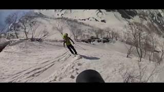 白馬鑓ヶ岳&白馬鑓温泉 バックカントリースキー (2018.04.21-22)