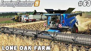 Selling grain, harvesting barley | Lone Oak Farm | Farming simulator 19 | Timelapse #63