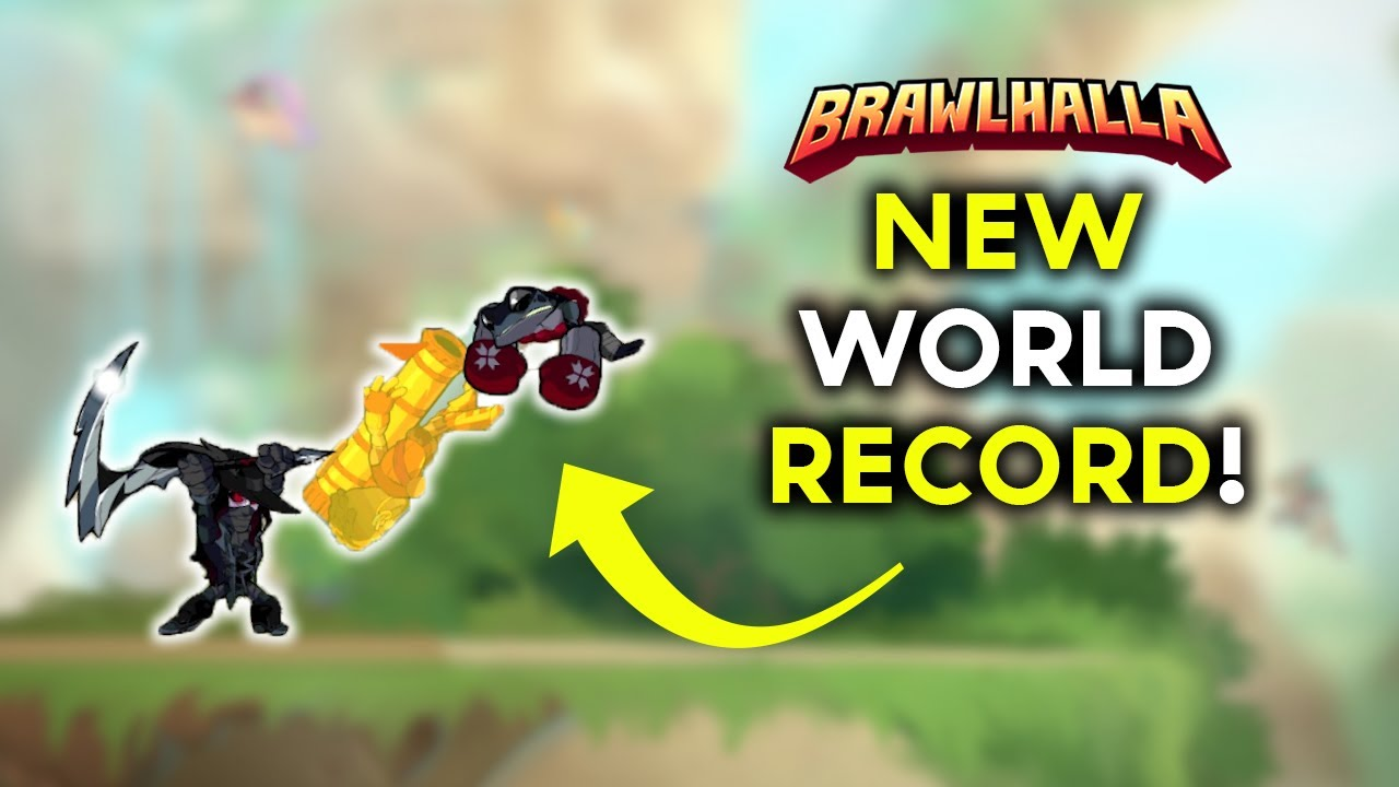 THE RECORD HAS BEEN BROKEN AGAIN! - Brawlhalla twitch highlights # 124