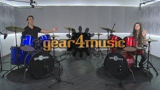 BDK-1 Full Size Starter Drum Kit by Gear4music