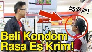 Prank Indomaret Alfamart!! Beli Kondom Rasa Ice Cream!