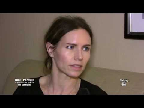 The Cardigans Nina Persson talks w Eric Blair 2014