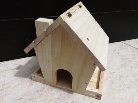 Wooden Bird Feeder Kit (Review)