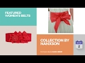 Collection By Nanxson Featured Women's Belts