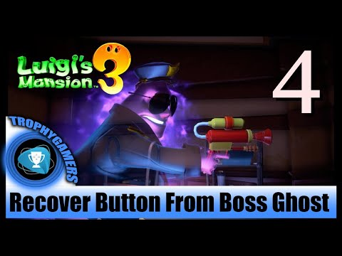 Luigi's Mansion 3 – Floor 3 : Recover The Button From The Boss Ghost - Walkthrough Part 4