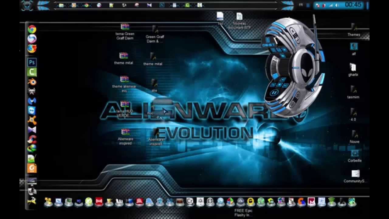 Themes for windows 7 youtube for Housse storio max 7
