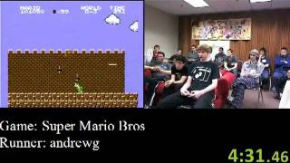 Super Mario Bros. Speed Run (06:33) - Awesome Games Done Quick 2012