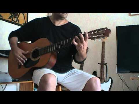 Un tuto ( cours ) guitare pour Non je ne regrette rien ( partition  tab Piaf )