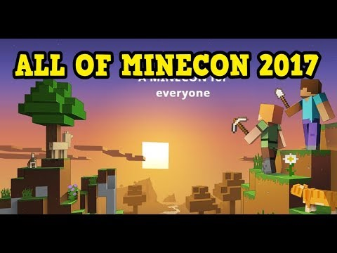 Minecon Earth Full Show 2017 - PC / PE / Console