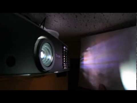 Benq W1500 3d Projector Fan Noise And Light Leakage Youtube