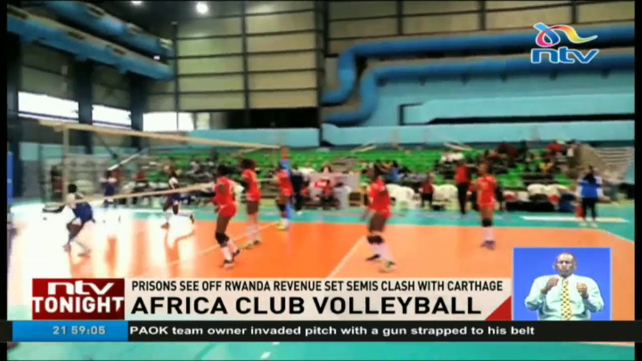 Kenya Prisons qualify for Women's Volley championship finals