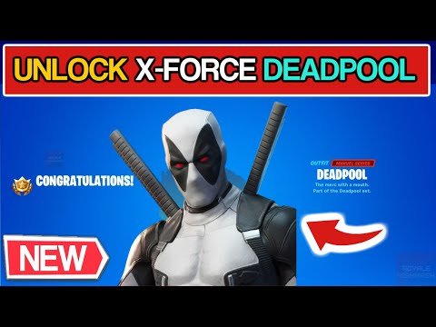 How To Get DEADPOOL X-FORCE SKIN In Fortnite (WEEK 9 Deadpool Guide)!