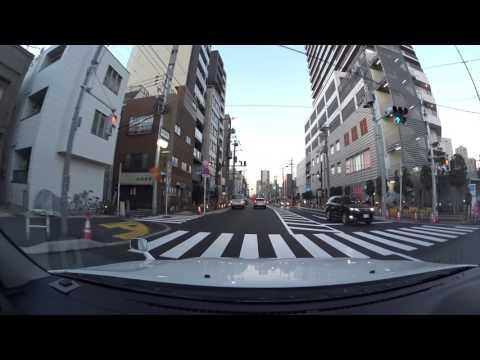 Tokyo drive 4K 東京スカイツリー 2017