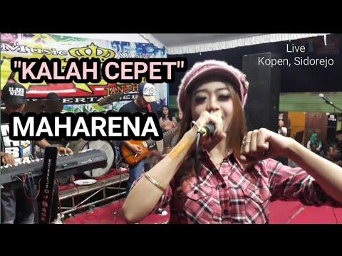 #MAHARENA~KALAH CEPET~Cover # Lusiana Malala