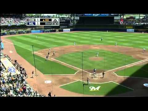 Mark Buehrle's 1st Career Home Run