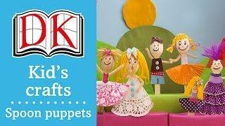 Fun Kids' Craft: How To Make Spoon Dolls