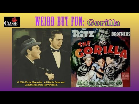 The Gorilla -- 1939 comedy