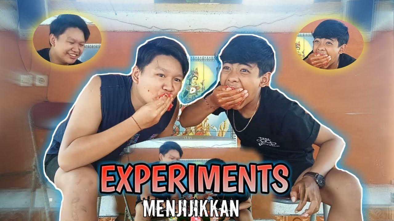 EXPERIMENT YANG SANGAT MENJIJIKKAN !!
