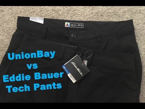 UB Tech Rainier Chino and Eddie Bauer Guide Pro Pant Review and Comparison